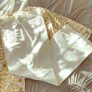White Talbots Heritage Pants